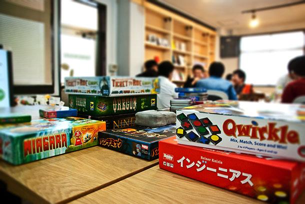 横浜ボードゲームカフェ